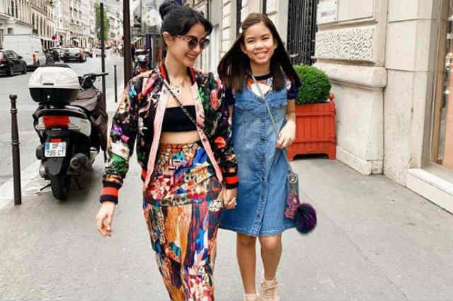 LOOK: Heart Evangelista brings Chiz Escudero's daughter Chesi to Paris