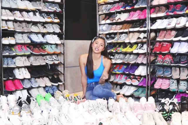 WATCH: Kim Chiu shows her massive sneaker collection