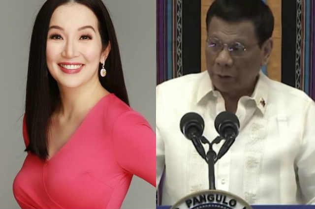 "Kris Aquino all praises for President Duterte: ""Tumulad na lang tayo sa pagka AUTHENTIC ni presidente Duterte"""