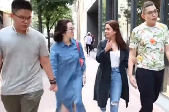 WATCH: Erich Gonzales spends fun bonding time with Kris Aquino and sons in Japan