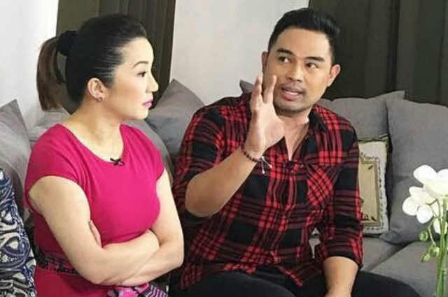 """Jed Madela defends Kris Aquno from basher: """"She can write whatever she wants on her Instagram account"""""""