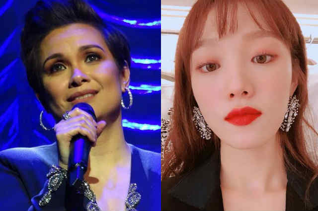Lea Salonga and Korean star Lee Sung Kyung exchange praises on Instagram