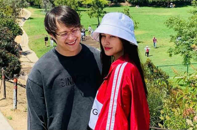 LOOK: Liza Soberano spends sweet time with Enrique Gil in the US after her finger surgery