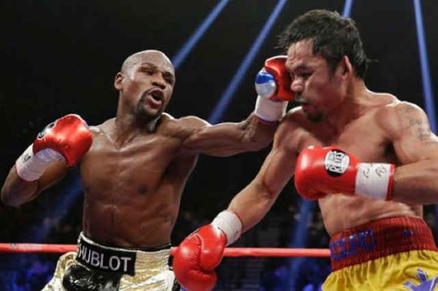 "Floyd Mayweather Jr. takes a swipe at Manny Pacquiao: ""You fight cause you have to, I fight when I want to!"""