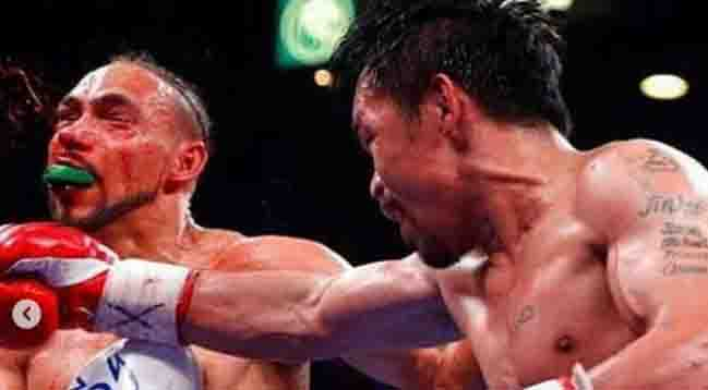 """Keith Thurman to Manny Pacquiao: """"truly great great legendary champion"""""""
