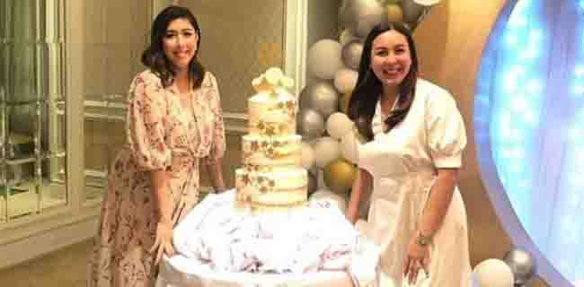 Marjorie Barretto throws baby shower party for Dani Barretto