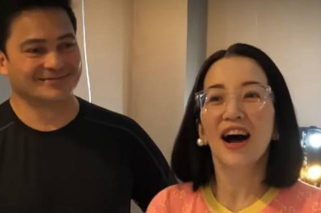 WATCH: Gabby Concepcion directly accepts Kris Aquino's offer to do his reunion movie with Sharon Cuneta