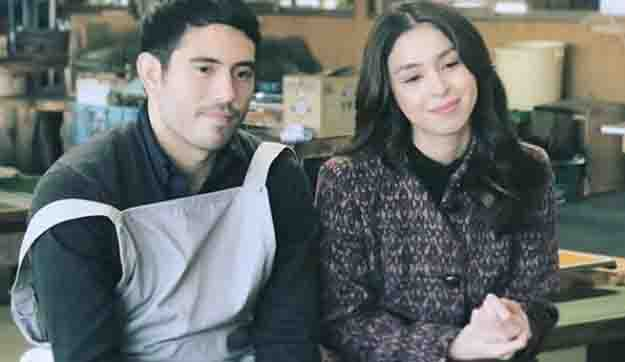 Gerald Anderson's mom tells Julia Barretto not to fall in love with her son