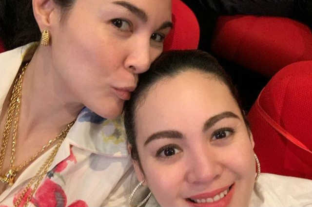 Gretchen Barretto gives all out love and support to Claudine Barretto