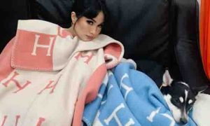 Netizens react to Heart Evangelista using Php 50k+ Hermes blanket for her aspin dog 'Panda'