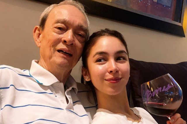 LOOK: Julia Barretto spends time with grandparents and relatives
