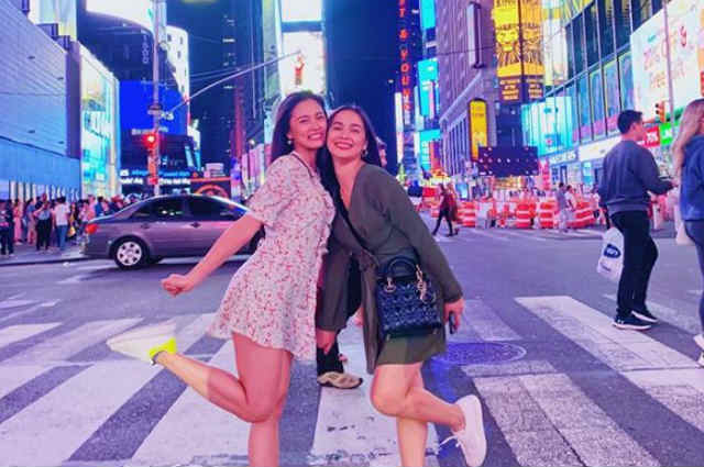 LOOK: Kim Chiu and Maja Salvador spend bonding time in New York