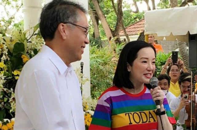 "Kris Aquino reveals apologizing to Mar Roxas: ""Nag sorry ako for our DADS and most especially, for NOY"""