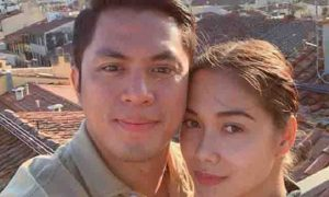 Maja Salvador reacts to rumors that she is secretly married to boyfriend Rambo Nunez