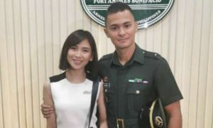 Matteo Guidicelli now officially a PH Army 2nd Lieutenant