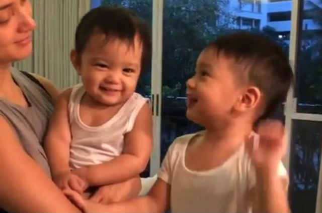 WATCH: Primo Arellano adorably sings 'Happy Birthday' to baby brother Leon