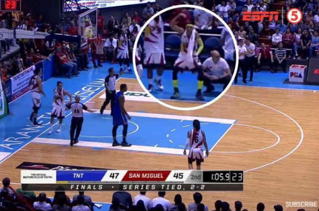PBA player Arwind Santos under fire after making 'monkey' gesture towards Terrence Jones