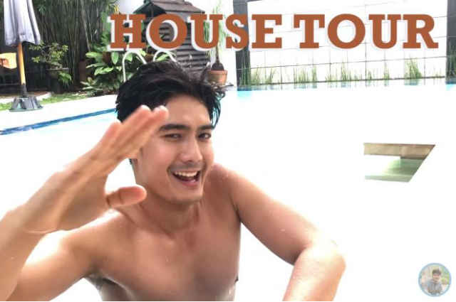 WATCH: Robi Domingo gives a tour inside their house