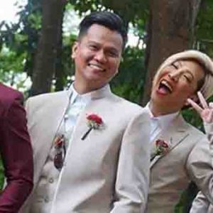 Photos of Vice Ganda as groomsman goes viral