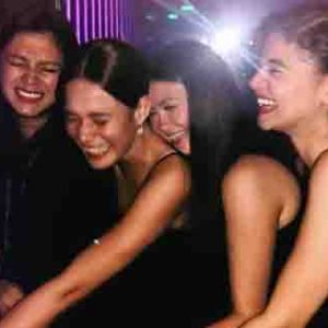 Angel Locsin bonds with Bea, Angelica and Anne after ABS-CBN Ball 2019