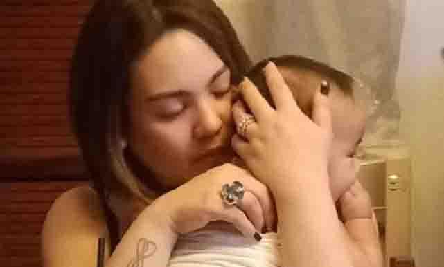 Claudine Barretto introduces baby Noah Joaquin