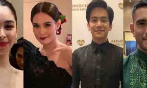 Julia, Bea, Joshua and Gerald attend ABS-CBN Ball 2019