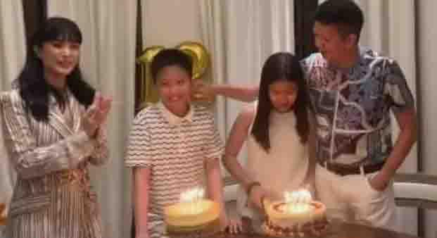 Heart Evangelista joins birthday celebration of Chiz Escudero's twins