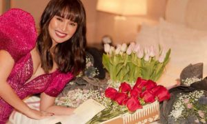 "Kathryn Bernardo receives bouquets of flowers from Daniel Padilla: ""He just keeps getting better and better"""