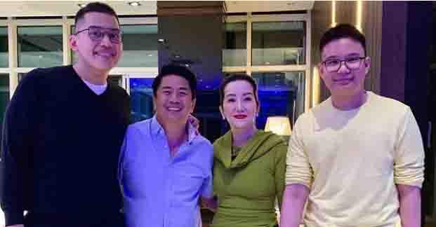 "Netizens react to Kris Aquino and Willie Revillame photo:  ""what if kayo nalang forever ni kuya will"""