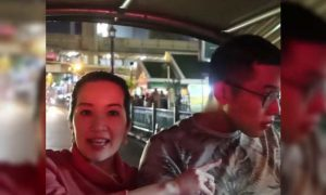 WATCH: Kris Aquino go on a 'tuk tuk' adventure with Joshua in Bangkok