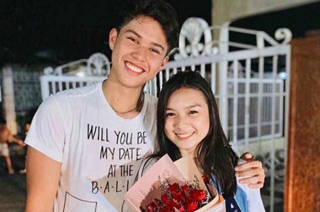 LOOK: Kyle Echarri asks Francine Diaz to be his ABS-CBN Ball date through 'harana'
