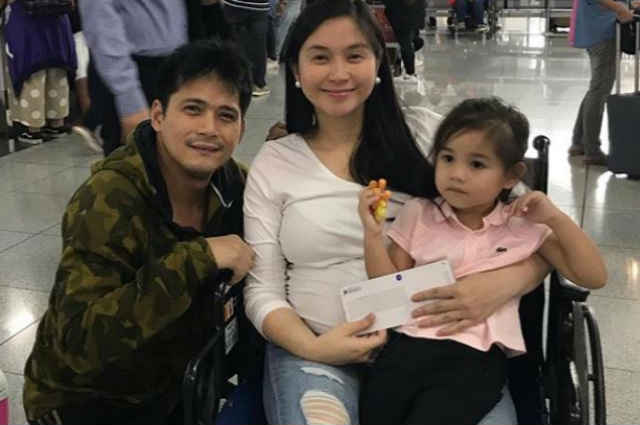 Mariel Padilla flies to U.S. as she prepares to give birth to second baby