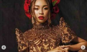 Tyra Banks reacts to Maymay Entrata's ABS-CBN Ball 2019 photos
