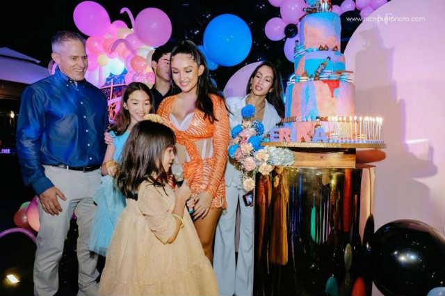 LOOK: Ina Raymundo's daughter Erika Rae celebrates 18th birthday with fun foam party
