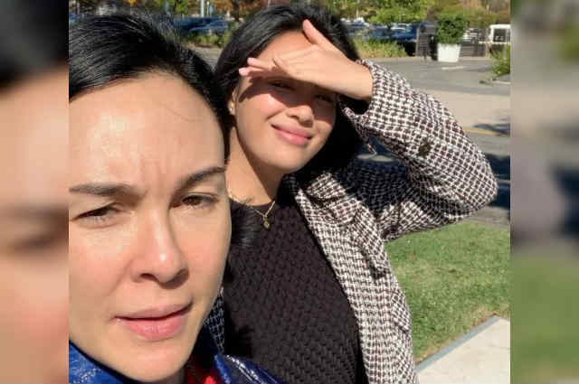 """Gretchen Barretto flies to the US to see daughter Dominique: """"Just what I need, a whole lot of love"""""""