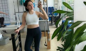 "Pauleen Luna shows off her post-workout body: ""Cheers to a stronger mommy Pau!"""