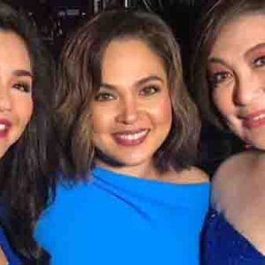 Regine Velasquez fangirls over Judy Ann Santos and Sharon Cuneta