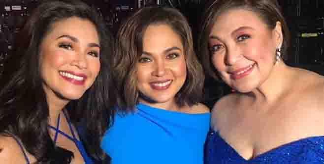 Regine Velasquez fangirls over Judy Ann Santos and Sharon Cuneta