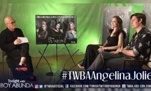 WATCH: Boy Abunda interviews 'Maleficent' stars Angelina Jolie and Sam Riley