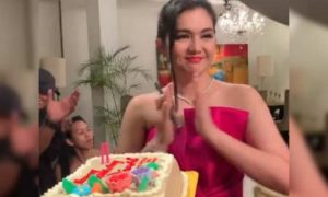 Dimples Romana celebrates 35th birthday with 'Kadenang Ginto' family