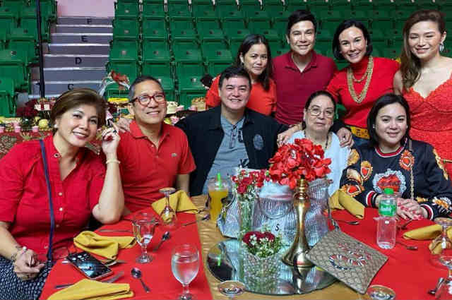 Gretchen, Claudine, mom Inday Barretto attend birthday celebration of Atong Ang's mother