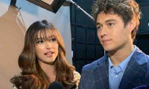 Liza Soberano approves of Enrique Gil's new curly hair look