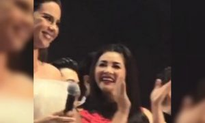 WATCH: Regine Velasquez's video getting stunned by Catriona Gray goes viral online