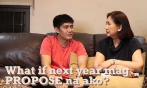 "Robi Domingo's mom reacts to his question: ""What if next year mag-propose na ako?"""