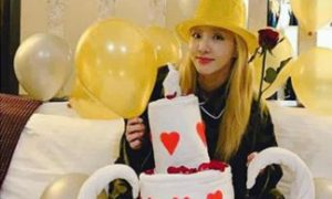 Sandara Park celebrates birthday in Bohol