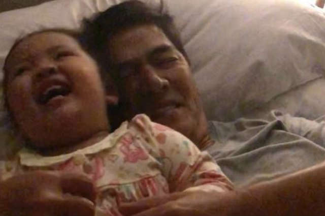 WATCH: Pauleen Luna and Vic Sotto's sweet moment with baby Tali delights netizens