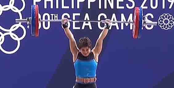 Hidilyn Diaz bags her 1st SEA Games weightlifting gold