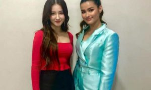 Nancy McDonie of Momoland meets 'look-alike' Liza Soberano