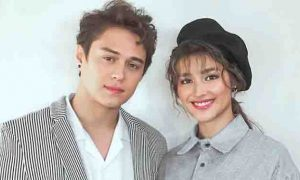 "Liza Soberano describes the kiss of Enrique Gil:  ""parang Grade 2"""