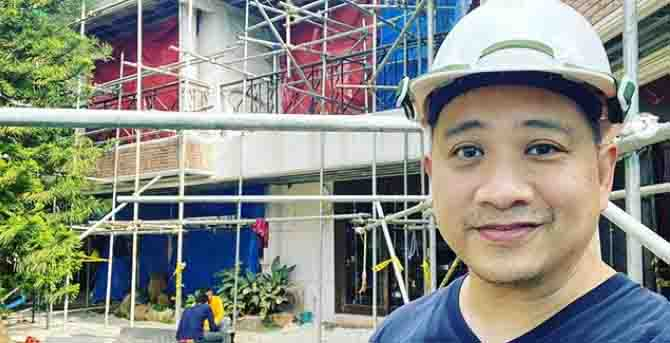 Michael V. shares a sneak peek of his newly renovated house